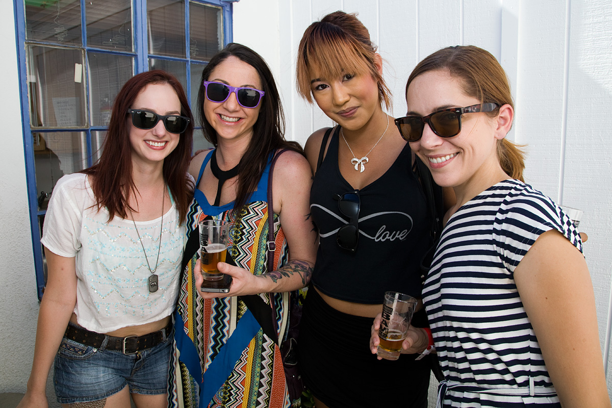 BAM Fest (Beer, Art & Music) Festival 2012 fundraiser for the 18th Street Arts Center in Santa Monica, CA