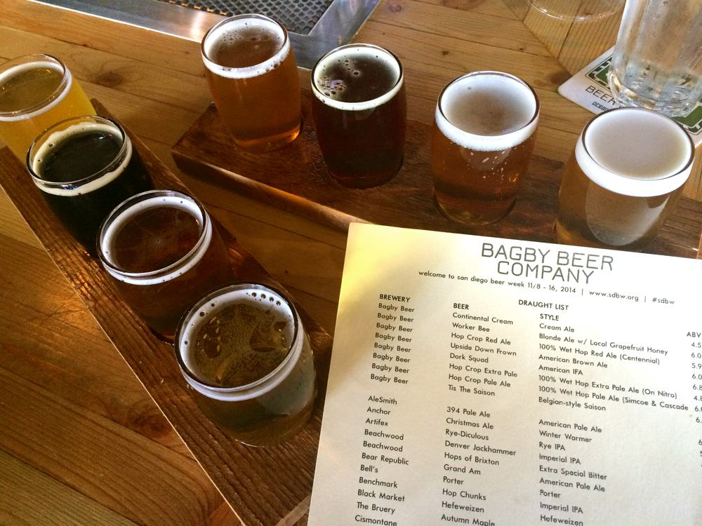 Bagby Beer in Oceanside, CA