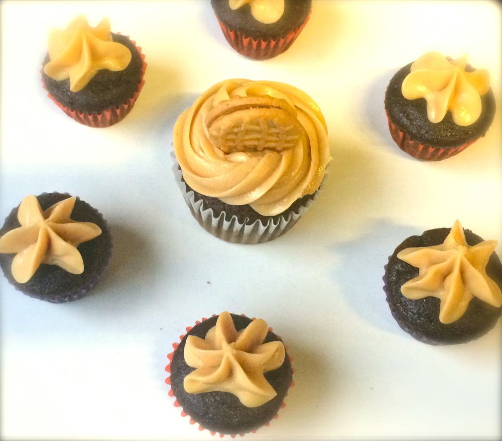 Belching Beaver Cup Cakes