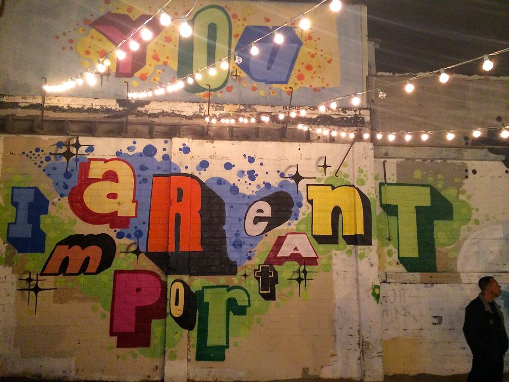 Art Graffiti for Craft Beer + Bites Event