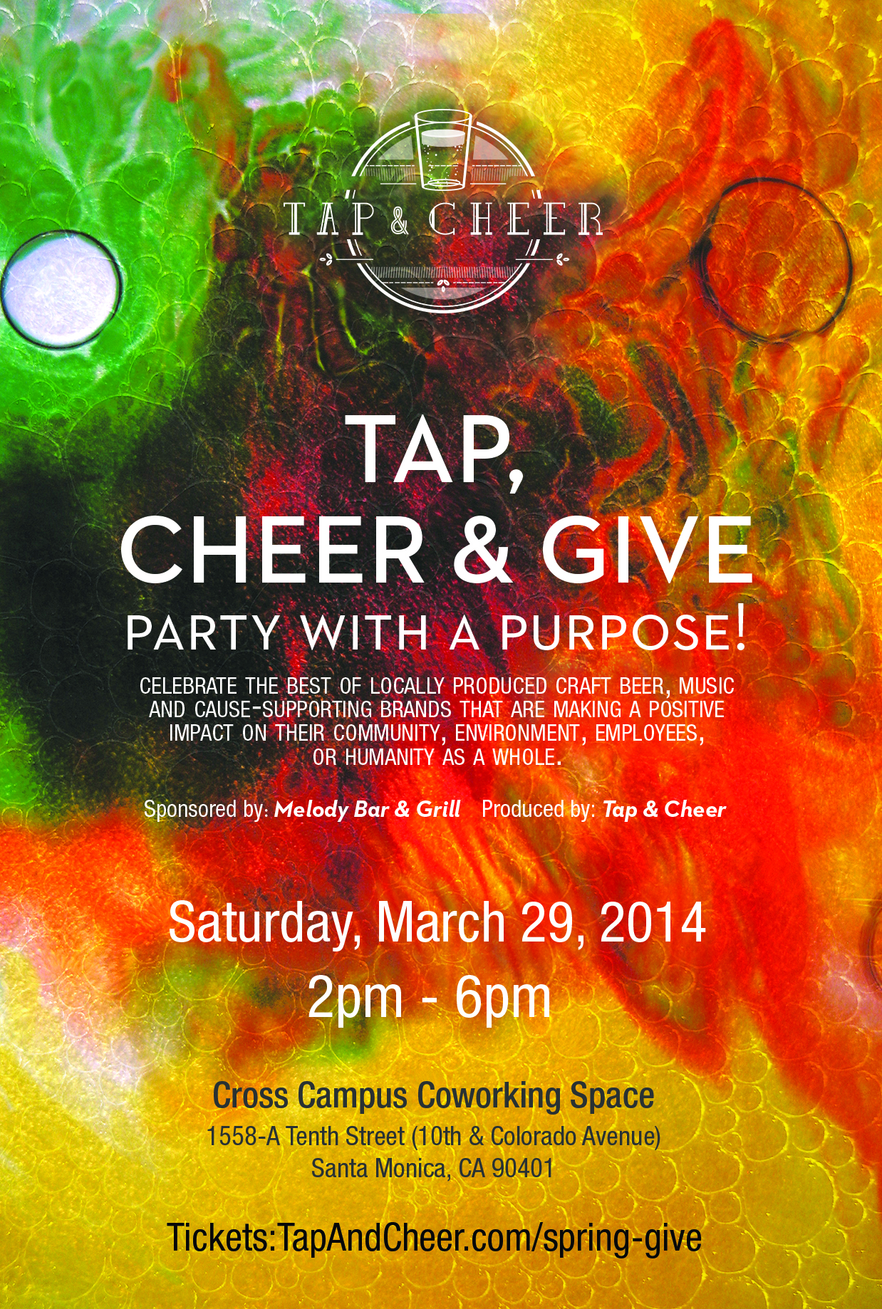 Tap Cheer & Give