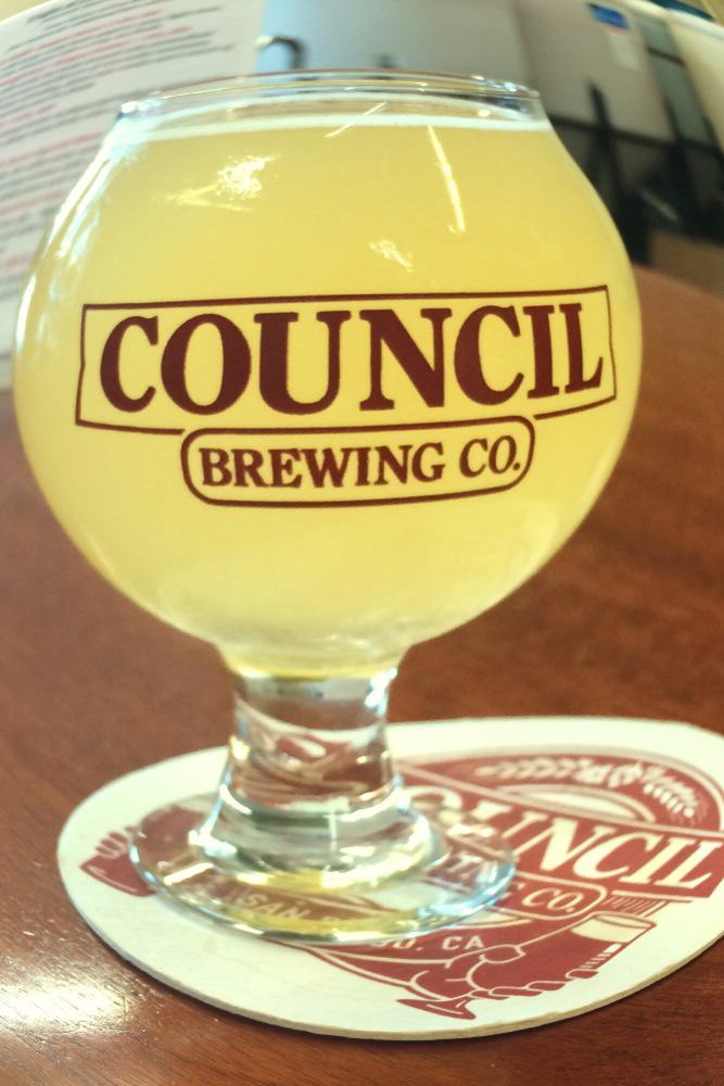 Council Brewing Mango Tart