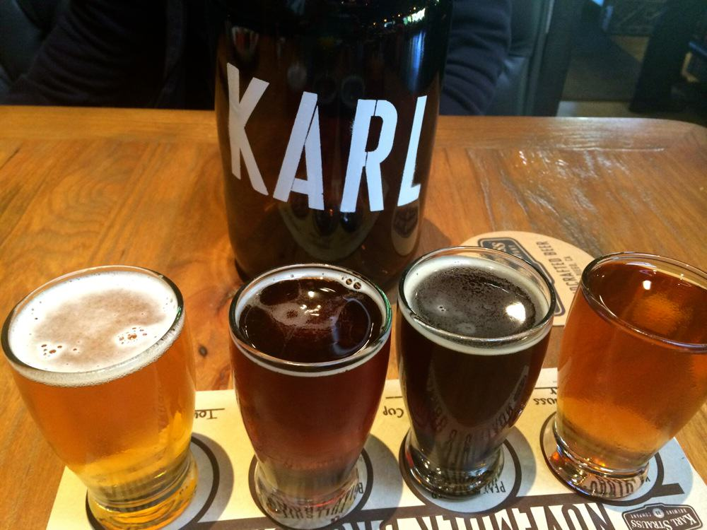 Karl Strauss Beer Flights