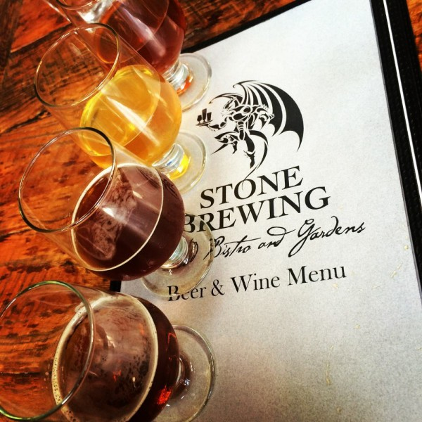 Stone Brewing Beer Tasters
