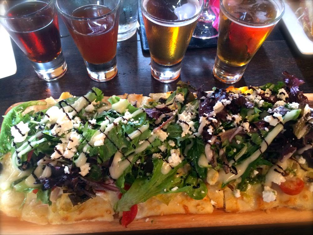 Beer Flights and Flatbread at Crush & Brew in Temecula